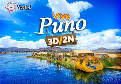 Puno + Islas Flotantes Lago Titicaca 3D/2N