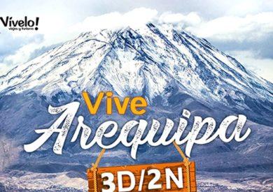 Arequipa Ciudad, Valle del Colca 3D/2N